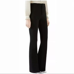 GUCCI black uniform Trouser pants. Wool. 40 2 4
